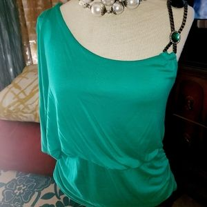 TATE One Shoulder Blouse